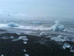 Iceland icebergs