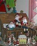 Santas on the roof!