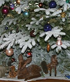 Snow Tree at Viette's