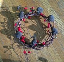 Small grapevine wreath