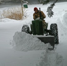 Plowing with my 1948 John Deere Model M. Thanks Grampa!