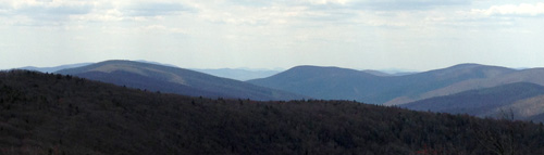 View from the top of Reddish Knob