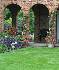 Beautiful lawns and gardens require proper nutrition and soil properties